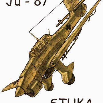 Stuka JU-87 Plane by HK887