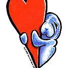 Love Manatees by offleashart