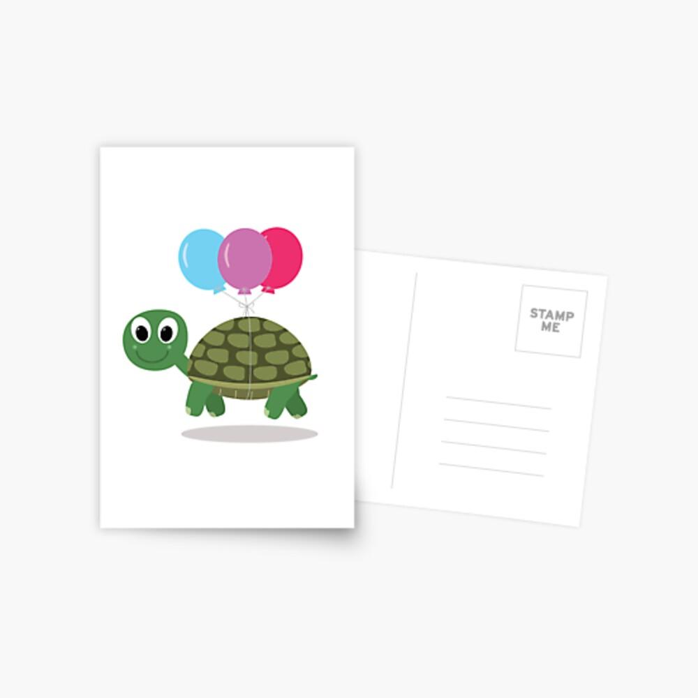 Tortoise Postkarte