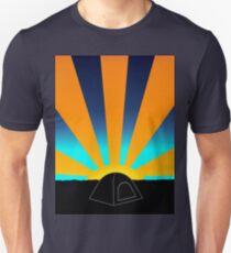 Sunrise Over A Tent Unisex T-Shirt