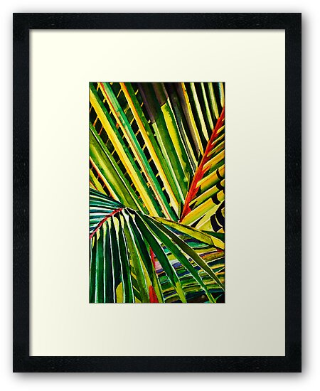 Palm Fronds by Sally Griffin