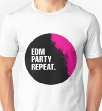 EDM Party Repeat Unisex T-Shirt
