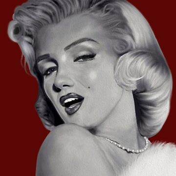 Marilyn Monroe Deep Red by fairyl