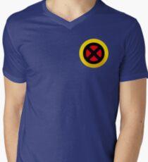 X-Logo Men's V-Neck T-Shirt