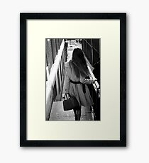 Feminin[c]ity - London Framed Print