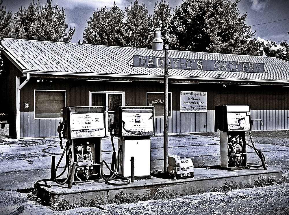 Fill Er Up by Paul Lubaczewski