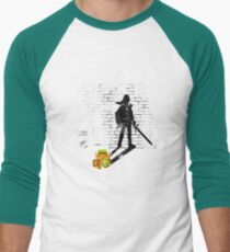 Becoming a Legend - Link:Original Men's Baseball ¾ T-Shirt
