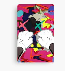 Kaws Paws Canvas Print