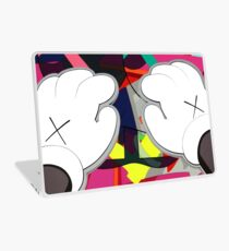 Kaws Pfoten Laptop Folie