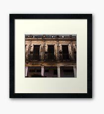 Old Building - Moron, Cuba Framed Print