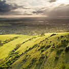 View towards Eastbourne from Butts brow by willgudgeon