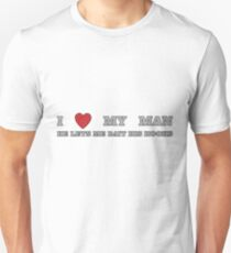 FISHING - LOVE YOUR MAN T-Shirt
