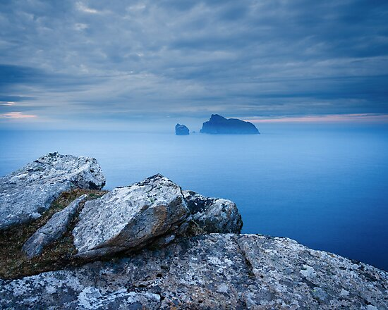 Boreray from Hirta, St Kilda by Christopher Thomson