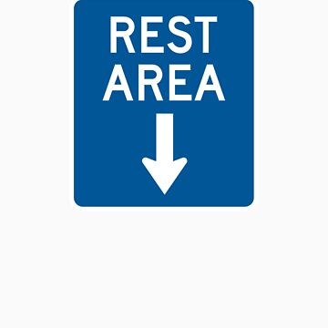 Rest Area - Down Arrow by BearPounder