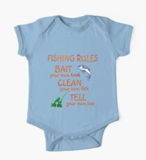 FISHING - RULES One Piece - Short Sleeve
