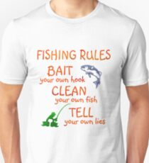 FISHING - RULES T-Shirt