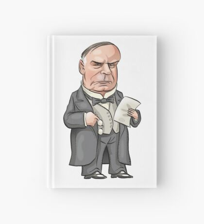President William McKinley Hardcover Journal