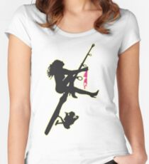 SEXY FISHING Women's Fitted Scoop T-Shirt
