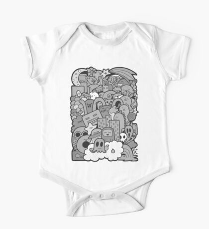 Doodleicious - Black and White Kids Clothes
