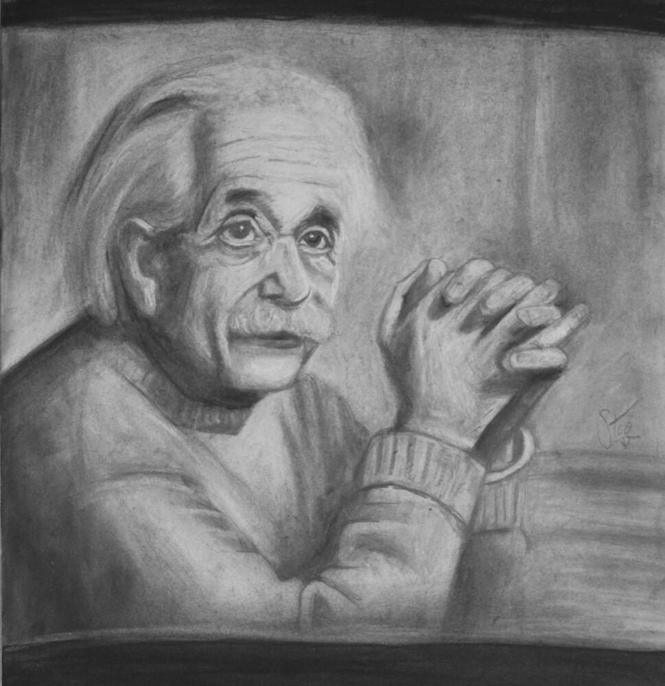 Albert Einstein by stoophilpott
