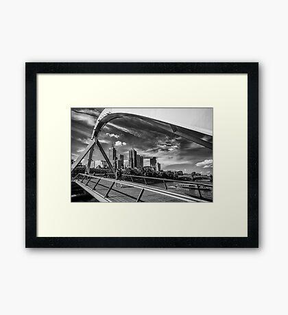 Yarra Arch Framed Print