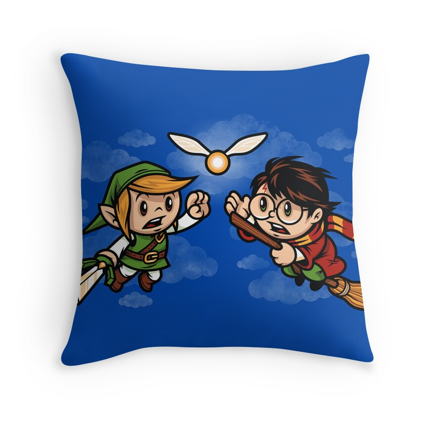 A Link to the Snitch | Throw Pillow