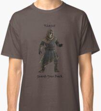 Khajiit Guards Your Back Classic T-Shirt