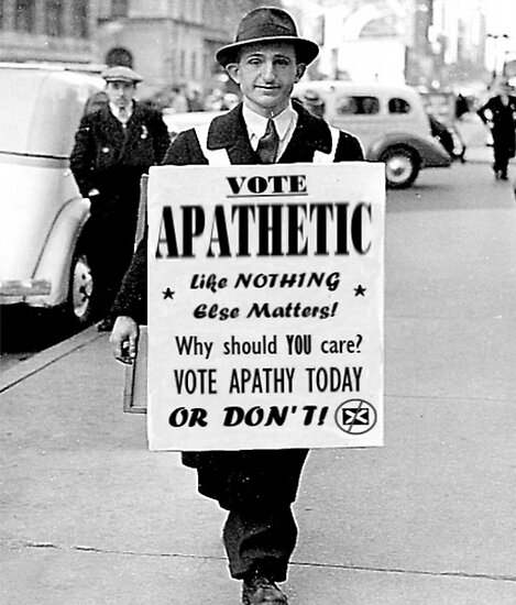 VOTE APATHY! Or don't. by macliam