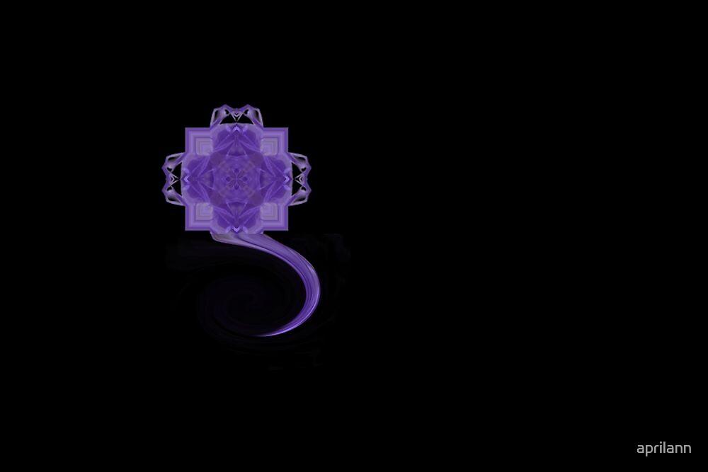 Lavender Swirl by aprilann