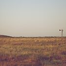 The Distant Windmill by lindsycarranza