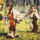Two Little Indians by pat gamwell