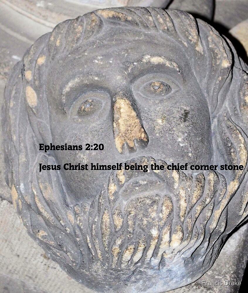Christ The Corner Stone by Francis Drake