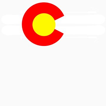 Colorado Flag Skis by StatusWhoa