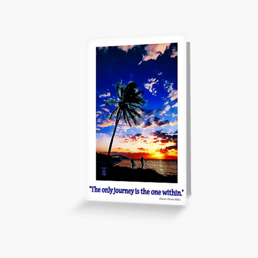 Sunrise from the Florida Keys Grußkarte