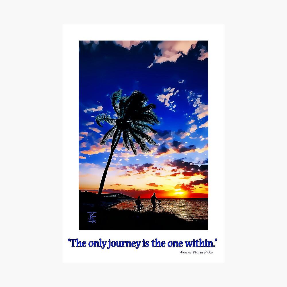 Sunrise from the Florida Keys Fotodruck