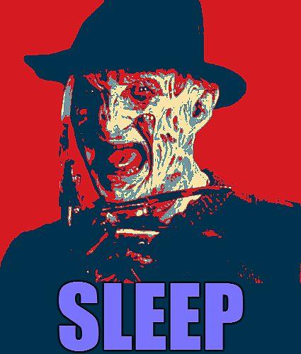 "Freddy Krueger ""SLEEP"" A Nightmare On Elm Street Parody  by miztayk"