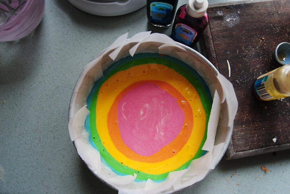 rainbow marble by Lily Philp