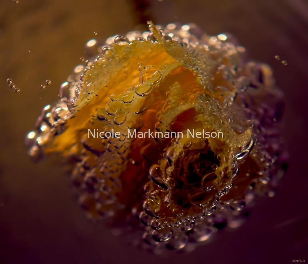 Bubble Rose by Nicole  Markmann Nelson