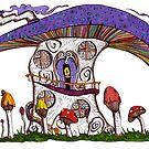 Mushroom House II by ogfx