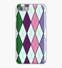Purpley Argyle iPhone Case/Skin