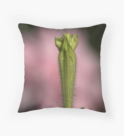 Petunia On A Rose Cloud Throw Pillow