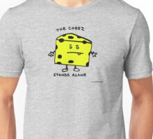 The Cheese Stands Alone Unisex T-Shirt