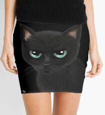 Angry cat Mini Skirt