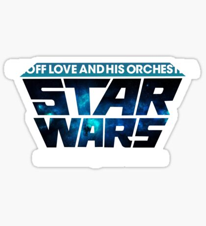 Geoff Love and his orchestra - Space Themes! Sticker