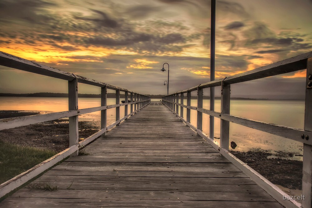 Jetty Sunset by bazcelt