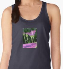 Purple And Pink Daisy Flower in Full Bloom Women's Tank Top