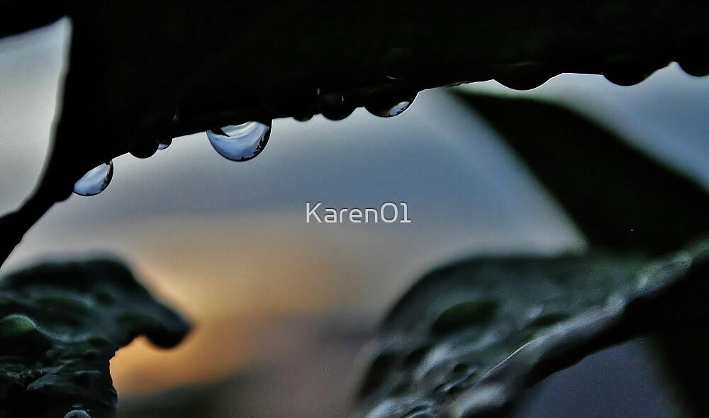 Dusk droplet by Karen01