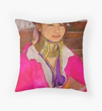 Refugee's Sorrow Bound Body and Soul 15 Throw Pillow
