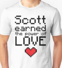 Scott earned the power of love T-Shirt