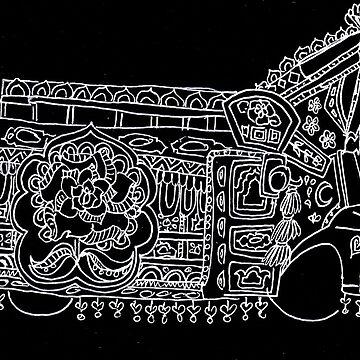 Solitary Truck - Truck Art by mariumrana